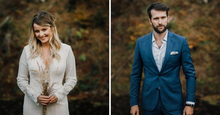 Ślub rustykalany w górach